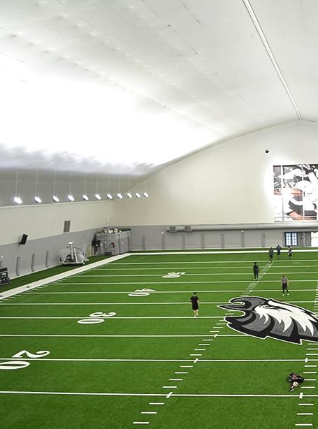 Iluminación del estadio